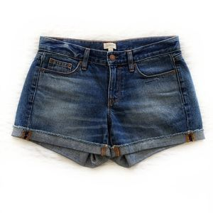 J Crew five pocket denim shorts Lexi Wash Size 25